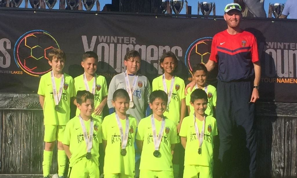 Rangers B07 White - Silverlakes Youngers Finalists 2017!