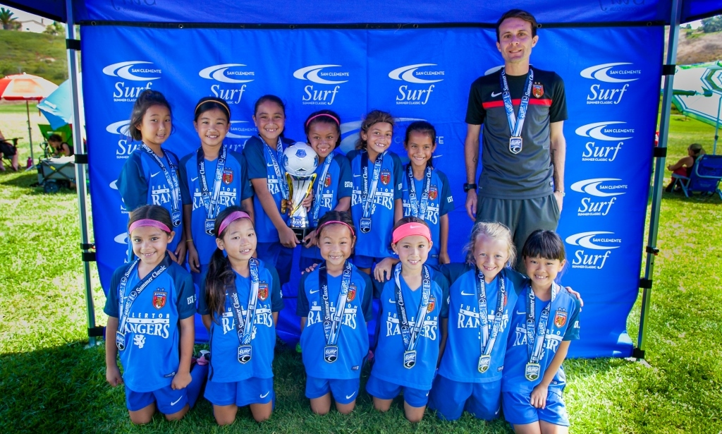 Rangers G09 White - San Clemente Surf Summer Classic Champions 2017!