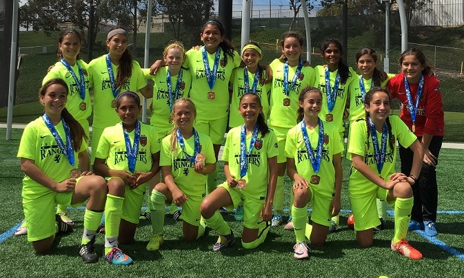 Rangers G04 Blue - Beach FC Pyramid Cup Finalists 2016!
