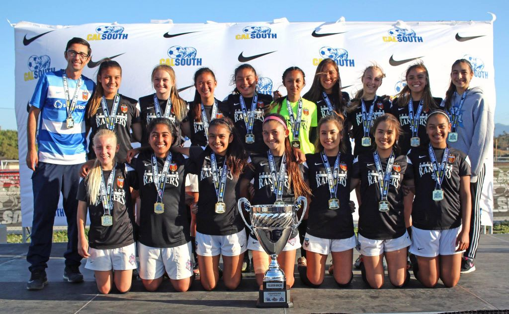 Rangers G01 White - National Cup Champions 2016!