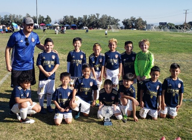 Rangers B10 White - Cal Cup Champions 2020!